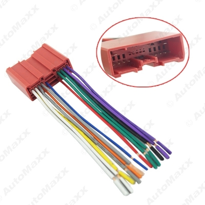Picture of Mazda Car Radio CD Player Wiring Harness Audio Stereo Wire Adapter