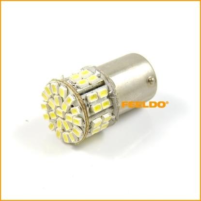 Picture of 1pcs White Car 1156 BA15S 50SMD 1206 LED Light Lamp Turn Signal Lights