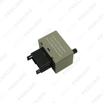 Picture of 1pcs 8 Pin KT Speed Adjustable LED Flasher Relay Fix For Turn Signal