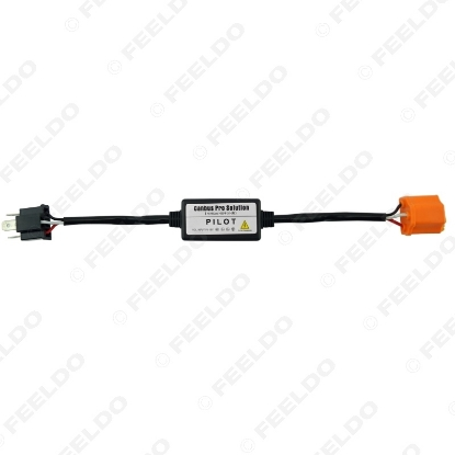 Picture of Digital LED Headlight Code Error Cancellers Controller H4 Hi/Lo Canbus Pro Solutions Fault for VW Volkswagen BMW Audi