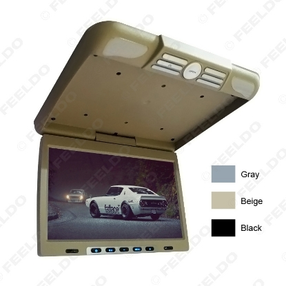 """Picture of 20.1"""" Roof Mounted LCD Bus Monitor Car Bus Flip Down TFT LCD Monitor with IR Transmitter 3 Colors"""