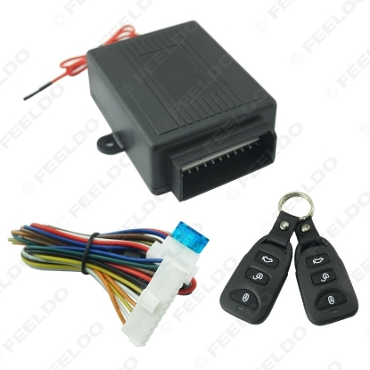 Picture of Universal 12V Car Remote Control Central Door Lock Locking Keyless Entry System