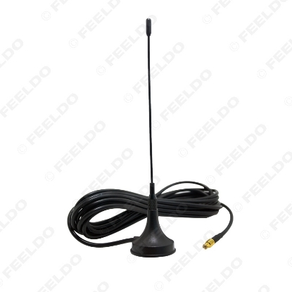 Picture of Car MCX Connector Active Digital TV Antenna With Built-in Amplifier Auto Aerial Antenna