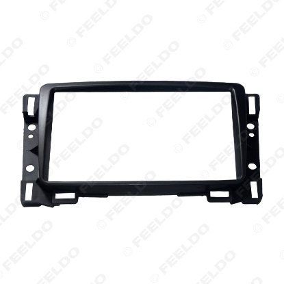 Picture of 1pc Car Refitting DVD 2Din Fascia Frame For Chevrolet Sail Radio DVD Stereo Panel Dash Mount Install Trim Kit Refit Frame