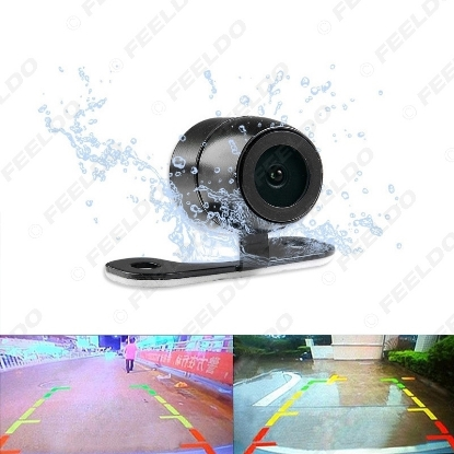 Picture of Waterproof 2.5mm (4Pin) Jack Port Universal Night Vision Car Rear View Camera For DVR Video Recorder