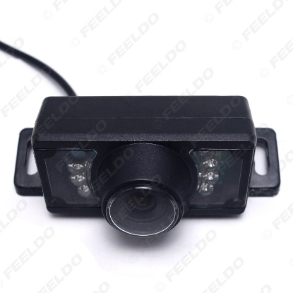 Picture of Waterproof Car Night Vision Rear View Camera With 7 IR Leds For Vehicle Parking Reverse System