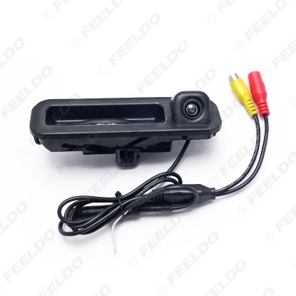 Picture of Car Rear View Parking Trunk Handle Camera For Ford Focus 2012 2013 Focus 2 Focus 3 Backup Camera