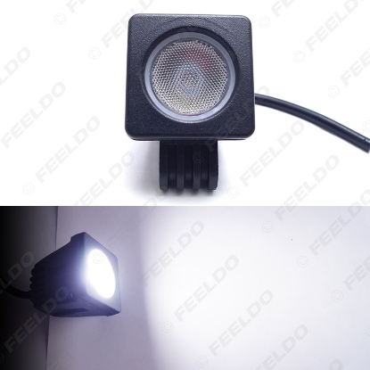 Picture of 2Inch 10W Car LED Work Light Spot Flood Off Road Worklight Fog Lamp For Motorcycle Truck Boat SUV DC12V-24V