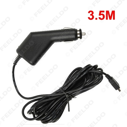 Picture of 1.2M Car Charger Auto Video Recorder USB Charger General GPS Navigator Power Cord