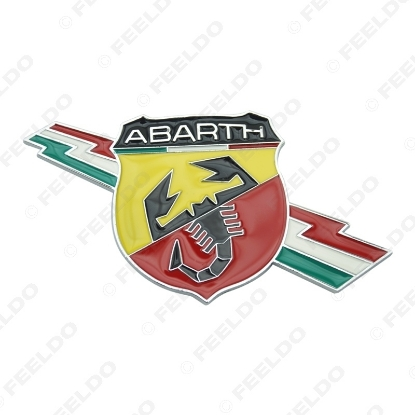 Picture of 1pcs New Metal 3D Decal Badge Emblem Sticker for Fiat Abarth Larger