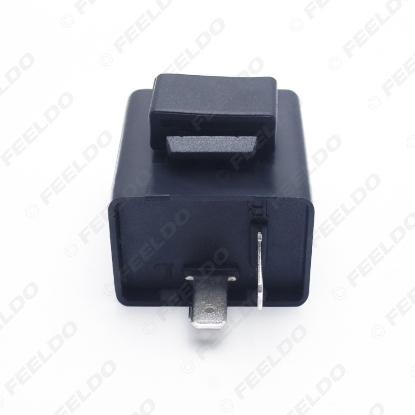 Picture of 2pin 12V Car Motorcycle Bike Flasher Relay Resistor for Led Indicator