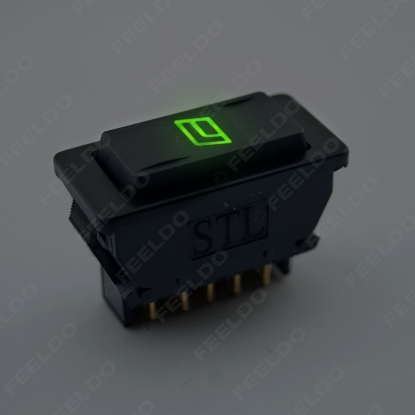 Picture of 1pcs Universal 5pins Car Power Window Switch 12V/24V 20A with illumination indicator