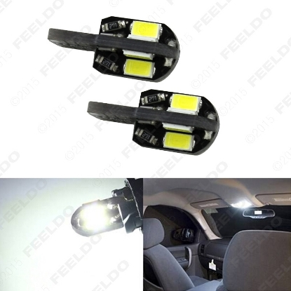 Picture of 1pcs T10 194 168 W5W 5730SMD 8LED Canbus No-Error Car Side Wedge LED Light Bulbs