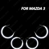 Picture of 4pcs/Set Car CCFL Angel Eyes Light Halo Rings Kits For Mazda 3 (2003-2009) Headlight DRL 6-Color