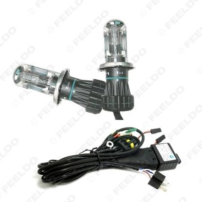 Picture of 2x 35W Car Xenon Headlight H4 9003 Hi/Lo Bi-Xenon HID Repalcement AC Bulbs & Harness