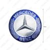 Picture of 75mm Wheel Center Caps Wheel Hub Rim Cap Cover Badge Emblem For Mercedes W230-C230 C180 W219-CLS350 CLS55AMG