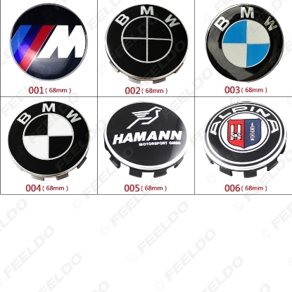 Picture of 68mm 10 pin For BMW wheel cover For BMW original wheel hub seat center hole trim cover wheel cover