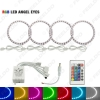 Picture of Car LED RGB Angel Eyes Halo Ring Light Wireless Remote Control for Ford Focus 08+ Bi-Xenon Headlight