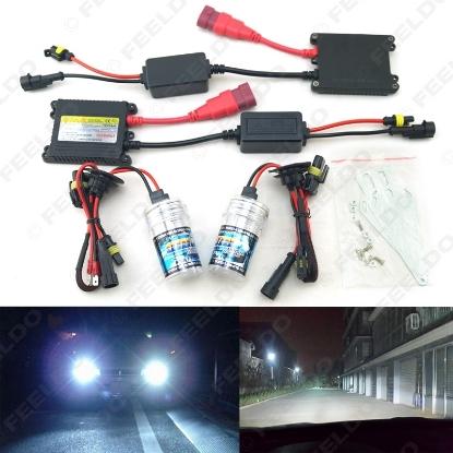 Picture of 1set Xenon HID Kit H1/H3/H7/H8/H10/H11/9005/9006 DC 12V 35W Xenon Bulb Lamp Digital Ballast Car Headlight