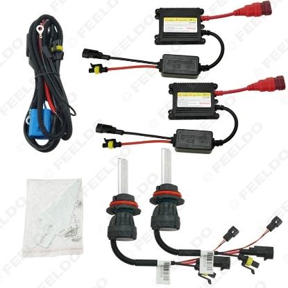 Picture of 1set 35W AC Car Headlight 9004 9007 Xenon Bulb Hi/Lo Beam Bi-Xenon Bulb Light Digital Slim Ballast HID Kit