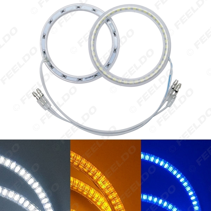 Picture of Car LED 42SMD Halo Rings Angel Eyes DRL Head Lamp For Cheverolet Lacetti Hatchback