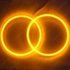 Picture of Car LED Halo Rings Angel Eyes DRL Head Lamp For Mitsubishi Lancer NON Projector