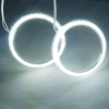 Picture of 1Pc White Car SMD Angel Eyes Light Halo Ring For All Cars Autos Headlight Multi-Size