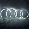 Picture of Car CCFL Angel Eyes Light Halo Rings Kits For Mitsubishi Lancer X Headlight DRL