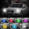 Picture of Car RGB LED Angel Eyes Halo Ring Lighting Kit Remote Control For BMW E92 DRL Headlight