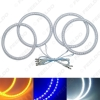 Picture of Auto SMD Angel Eyes Light Halo Rings DRL For Volvo S40 Headlight 3-Color
