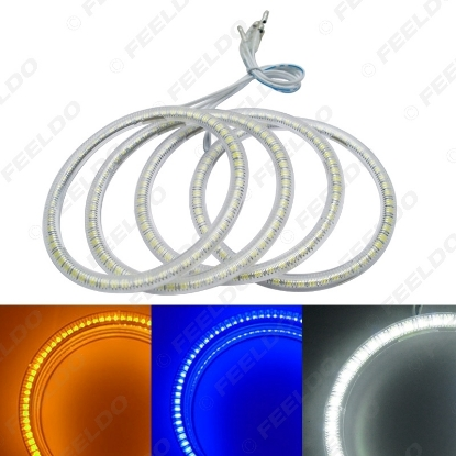 Picture of Auto SMD Angel Eyes Light Halo Rings DRL For BMW E46 Coupe 2D (04+)/E46 Cabrio/Z3 Headlight 3-Color