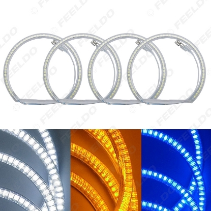 Picture of Auto SMD Angel Eyes Light Halo Rings DRL For BMW E36/E38/E39/E46 (99-04) Headlight 3-Color