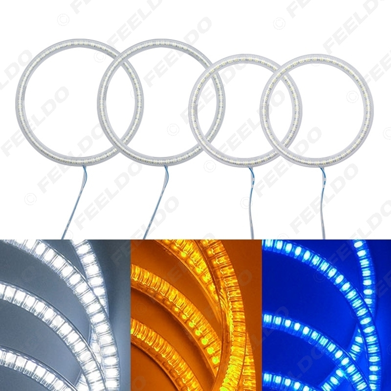 Picture of Auto SMD Angel Eyes Light Halo Rings DRL For Ford Mondeo 02-05 Headlight