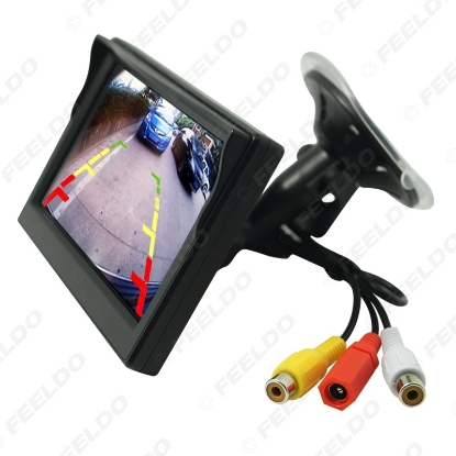 Picture of 5inch Digital Display Windshield LCD Car Monitor For Reversing Backup Camera DVD VCR