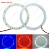 Picture of 2pcs/lot 100mm Car Angel Eyes 1210/3528 33SMD LED Headlight Halo Ring Angel Eye Lighting White Red Blue