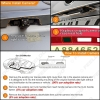 Picture of Car Rear View Camera With 4-LED light For Volvo C70 I II V70 II III XC70 Parking Backup Camera Kit