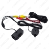 Picture of Auto 3 in 1 Sound Alarm Reverse Backup LED Parking Radar 2 Sensors Rearview Camera Video Parking System