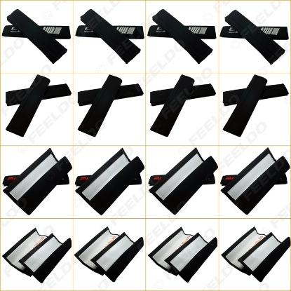 Picture of 1pair Car/Truck Embroidered Seat Belt Shoulder Cover Pads For Mixed Logo Order