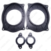 Picture of 2pcs/Set Car Stereo Audio Rear Speaker Spacer Adapter Hold Refitting Mat For Toyota Camry Highlander