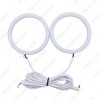 Picture of Car Xenon Cotton Angel Eyes Halo Ring Light DRL For BYD F6 Headlight