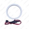 Picture of Car Xenon Cotton Angel Eyes Halo Ring Light DRL For FIAT Grande Punto Headlight