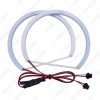 Picture of Car Xenon Cotton Angel Eyes Halo Ring Light DRL For Mitsubishi Lancer X Headlight