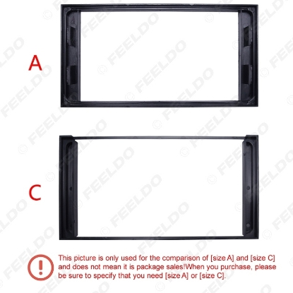 Picture of Car Radio Stereo 2DIN Fascia Panel Refitting Frame Facia Trim Install Mount Kit For TOYOTA Camry/PREVIA/VIOS/COROLLA