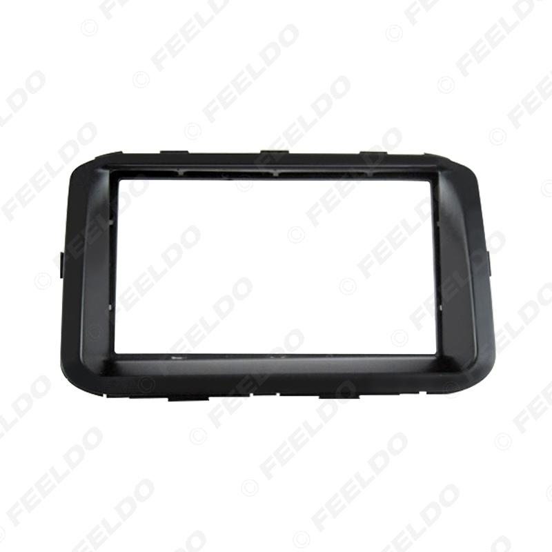 Picture of 2DIN Car Stereo Radio Fascia Plate Panel Frame for KIA 2014 Forte CD/DVD Radio Panel Dashboard Frame Trim Mount Kit