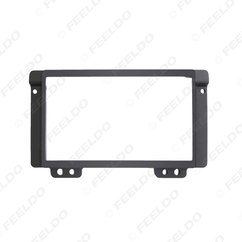 Picture of 2DIN Car Stereo Radio Fascia Plate Panel Frame for Land Rover Discovery CD/DVD Radio Panel Dashboard Frame Trim Mount Kit