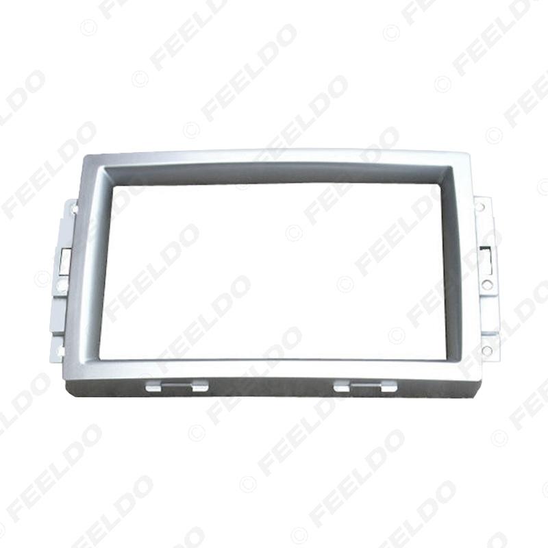 Picture of 2DIN Car Stereo Radio Fascia Plate Panel Frame for Chrysler 300C 05-07 CD/DVD Radio Panel Dash Trim Mount Kit