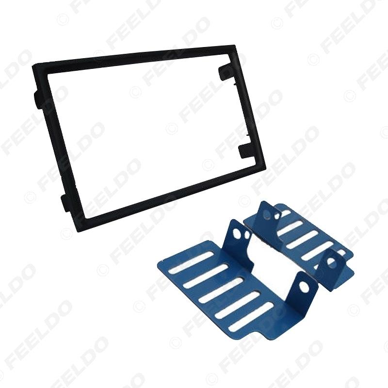 Picture of 2Din Car CD DVD Radio Stereo Frame Panel Audio Navigation Frame Dash Fascia Kits For Proton Preve 2012-2017