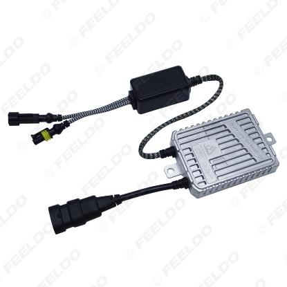 Picture of 12V AC 55W Auto Car Slim Type Conversion Xenon HID Ballast HID Replacemet Ballast Silver