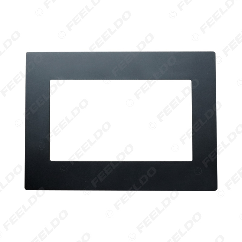 Picture of Universal 2DIN Car Stereo CD/DVD Radio Fascia Panel Frame Fitting for Installation In-Dash Mounting Frame