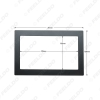 Picture of Universal Car CD/DVD Radio Stereo Fascia Panel Frame Fitting for 2DIN Installation In-Dash Mounting Frame
